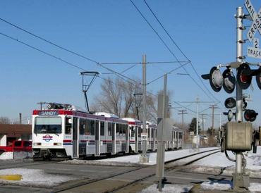 UTA TRAX 7200 South depot