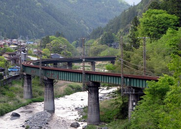 第6飯田線水窪橋梁