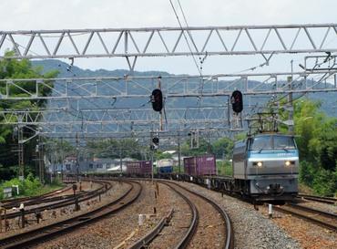 膳所駅西寄EF66-123
