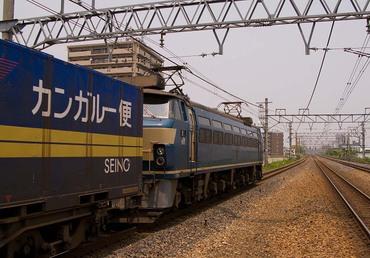 瀬田駅北寄EF66-?