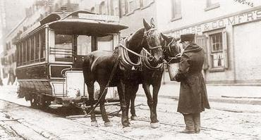 Streetcarpullinghorses