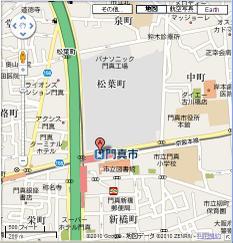 Kadoma_shi_map