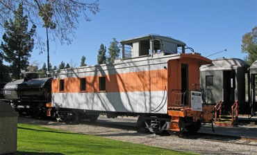 Wood Caboose