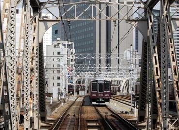 梅田貨物線跨線橋