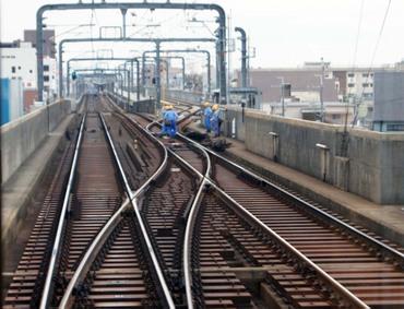 豊中駅側線