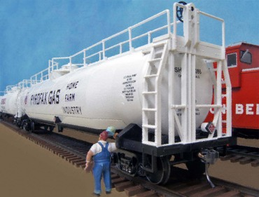 Whalebelly Tank Car