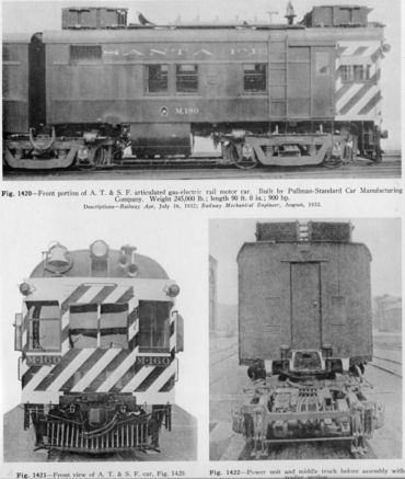 atsf gas electric car
