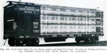 Humane Live Stock Car HLSX 1