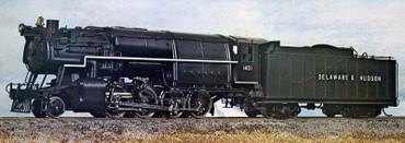 Delaware & Hudson E7 2-8-0 HO model