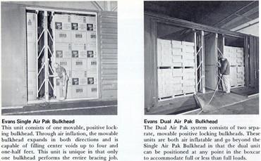 Evans Double Air Pak bulkhead