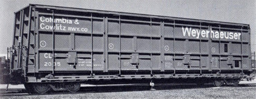 CLC 2035 Columbia & Cowlitz Rwy Co Weyerhaeuser