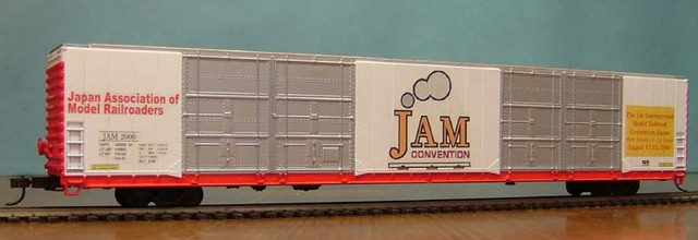 JAM 2000, The 1st JAM Convention, privately decorated