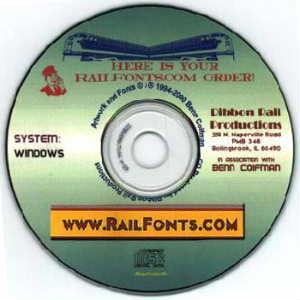 Railfontcdrom