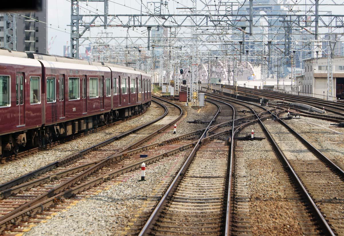 阪急十三駅連絡渡り線