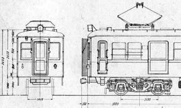京阪1700系図面