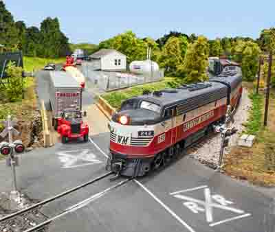 January 2018 model railroader wallpaper