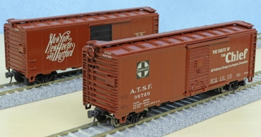 Kar-line 40-foot box cars