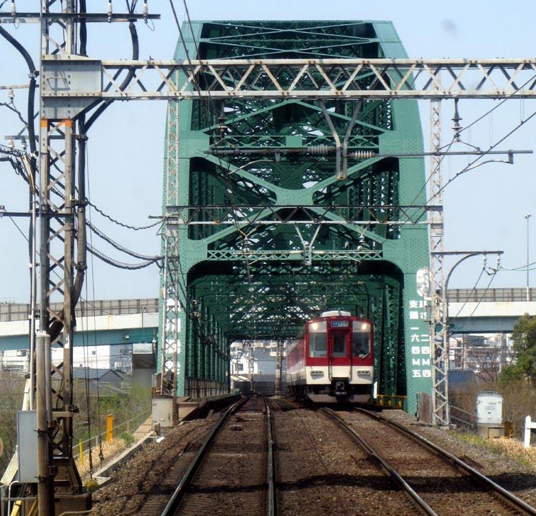 カブリツキ鉄橋巡り-近鉄澱川橋梁: TransPacific Railroad